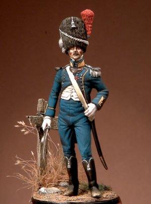 El teniente de Infantería Ligera  (Vista 1)