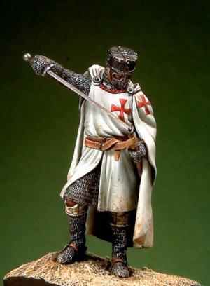 Caballero templario - siglo XIII  (Vista 1)