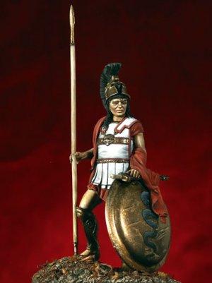 Hoplita griego - siglo VI a. C.  (Vista 1)