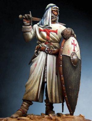 Caballero Templario en Tierra Santa con  - Ref.: ROME-54061