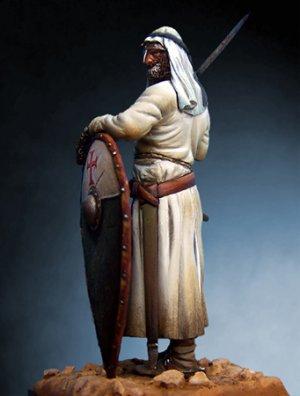 Caballero Templario en Tierra Santa con   (Vista 3)