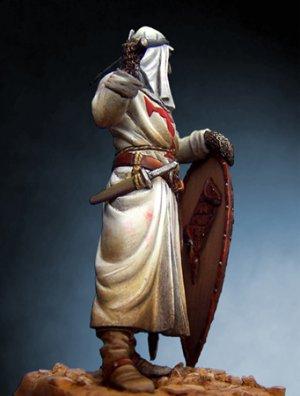 Caballero Templario en Tierra Santa con   (Vista 4)