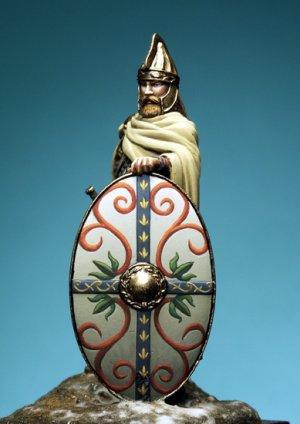 Dacian Celtic Warrior, II Century A.C.  (Vista 2)