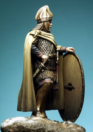 Dacian Celtic Warrior, II Century A.C.  (Vista 3)