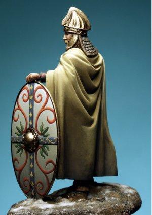 Dacian Celtic Warrior, II Century A.C.  (Vista 4)
