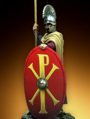 Byzantine Infantry Official - VI Century  (Vista 2)