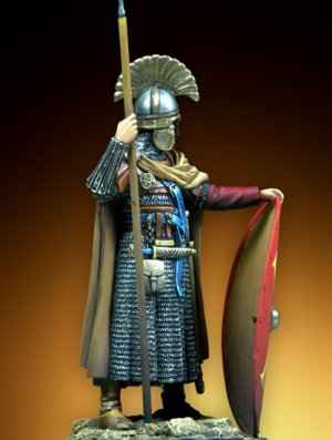 Byzantine Infantry Official - VI Century  (Vista 3)