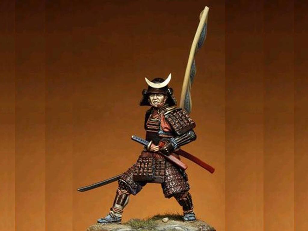 Samurai del periodo Momoyama  (Vista 1)