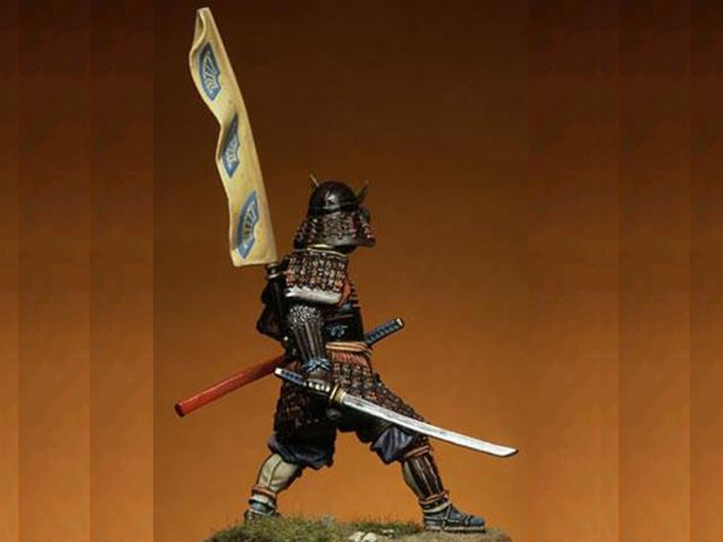 Samurai del periodo Momoyama  (Vista 4)
