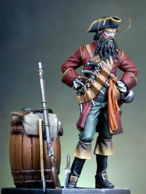 El pirata Barbanegra  (Vista 2)