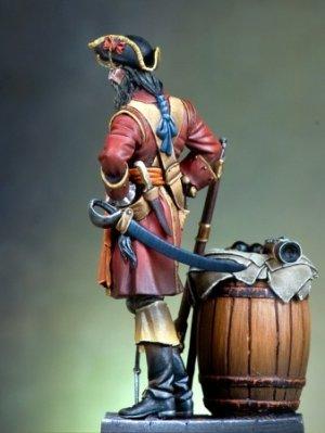 El pirata Barbanegra  (Vista 4)