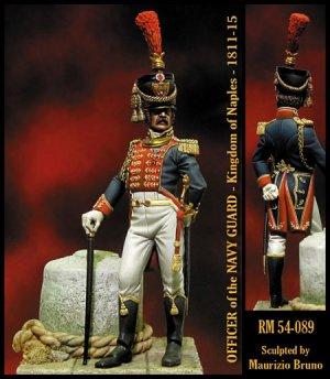 Oficial de la Guardia Marina - 1811-1815  (Vista 1)