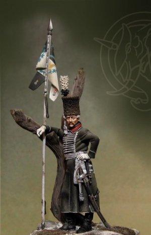Bosnian Lancers Officer - Prussia 1762   (Vista 1)