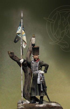 Bosnian Lancers Officer - Prussia 1762   (Vista 2)