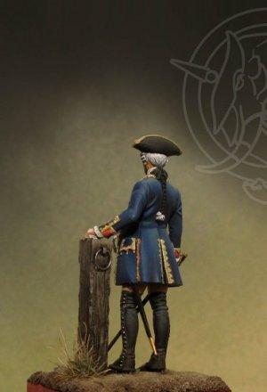 Officer 4th Infantry Rgt. - Prussia 1756  (Vista 3)