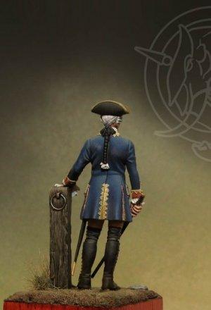 Officer 4th Infantry Rgt. - Prussia 1756  (Vista 4)