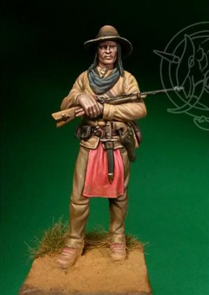 Indian Scout, 19th Century  (Vista 1)
