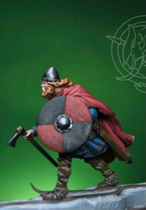 Viking Birkebeiner with Child  (Vista 2)