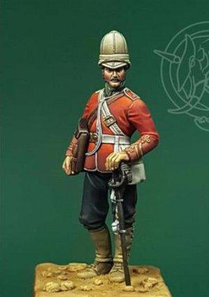 Officer – 24th Regiment of Foot – Zulu W  (Vista 1)