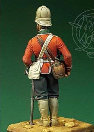Officer – 24th Regiment of Foot – Zulu W  (Vista 2)