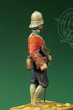Officer – 24th Regiment of Foot – Zulu W  (Vista 3)