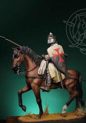 Templar Knight XII Century  (Vista 4)