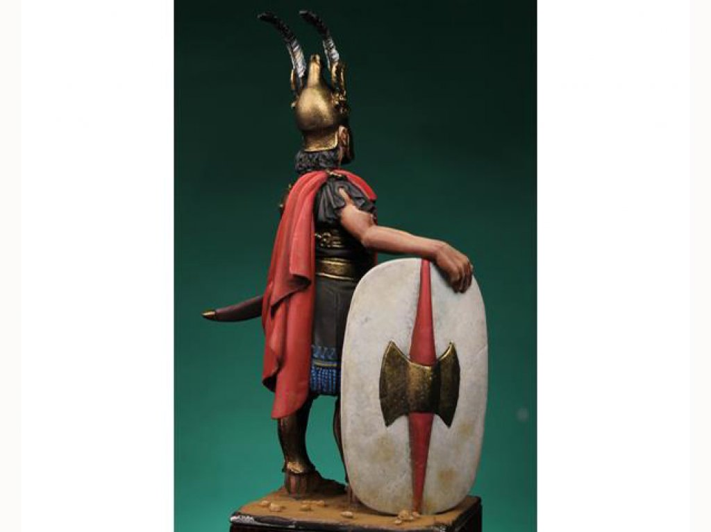 Comandante Cartagines III Cent. B.C.  (Vista 2)