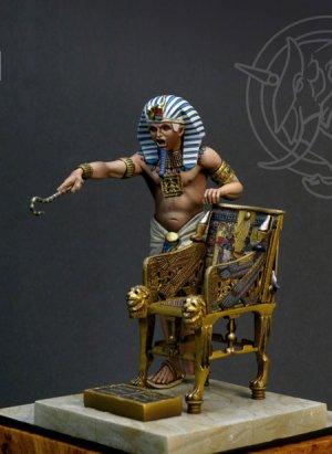 Tutankhamen Faraone d'Egitto ca 1341-132  (Vista 1)