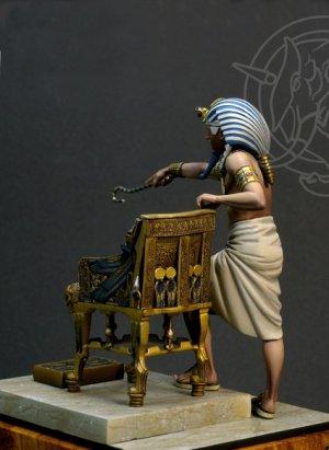 Tutankhamen Faraone d'Egitto ca 1341-132  (Vista 2)