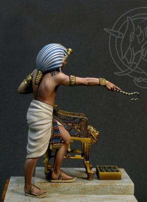 Tutankhamen Faraone d'Egitto ca 1341-132  (Vista 3)
