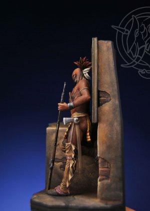 Iroquois Warrior in a Casle - Mid XVIII   (Vista 2)