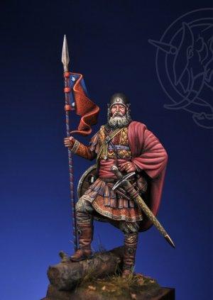 Novgorodian Mounted Sotnik – Russia 1363  (Vista 1)