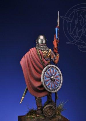 Novgorodian Mounted Sotnik – Russia 1363  (Vista 2)