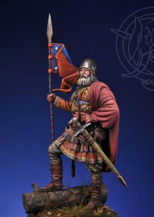 Novgorodian Mounted Sotnik – Russia 1363  (Vista 3)