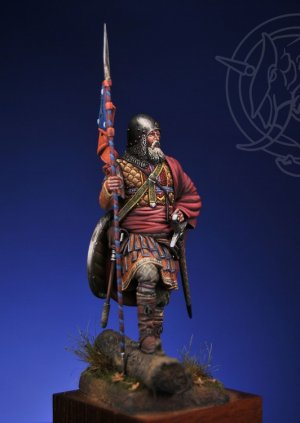 Novgorodian Mounted Sotnik – Russia 1363  (Vista 4)