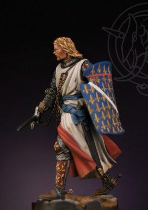 Angevin Knight first half XIV Century  (Vista 3)
