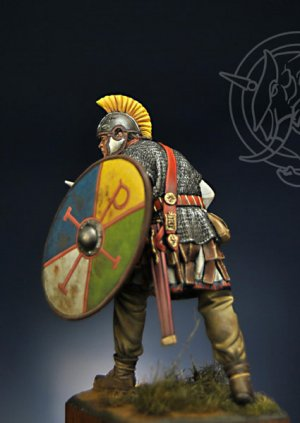 Oficial Romano 4th Century AD  (Vista 2)