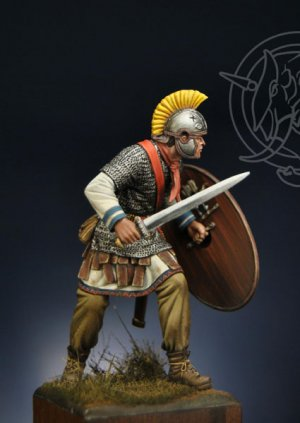 Oficial Romano 4th Century AD  (Vista 4)