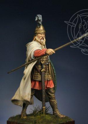 Celtic Chieftain V century BC 75  (Vista 4)