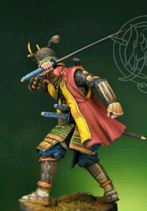 Samurai Warrior c.1590  (Vista 3)