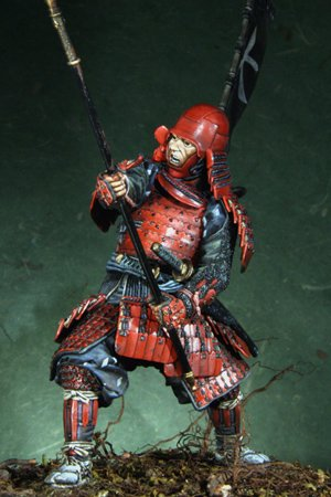 Samurai Azuchi-Momoyama period, 1568-160  (Vista 2)