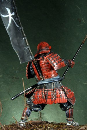 Samurai Azuchi-Momoyama period, 1568-160  (Vista 3)