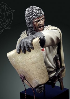 Caballero templario Siglo XIII  (Vista 2)