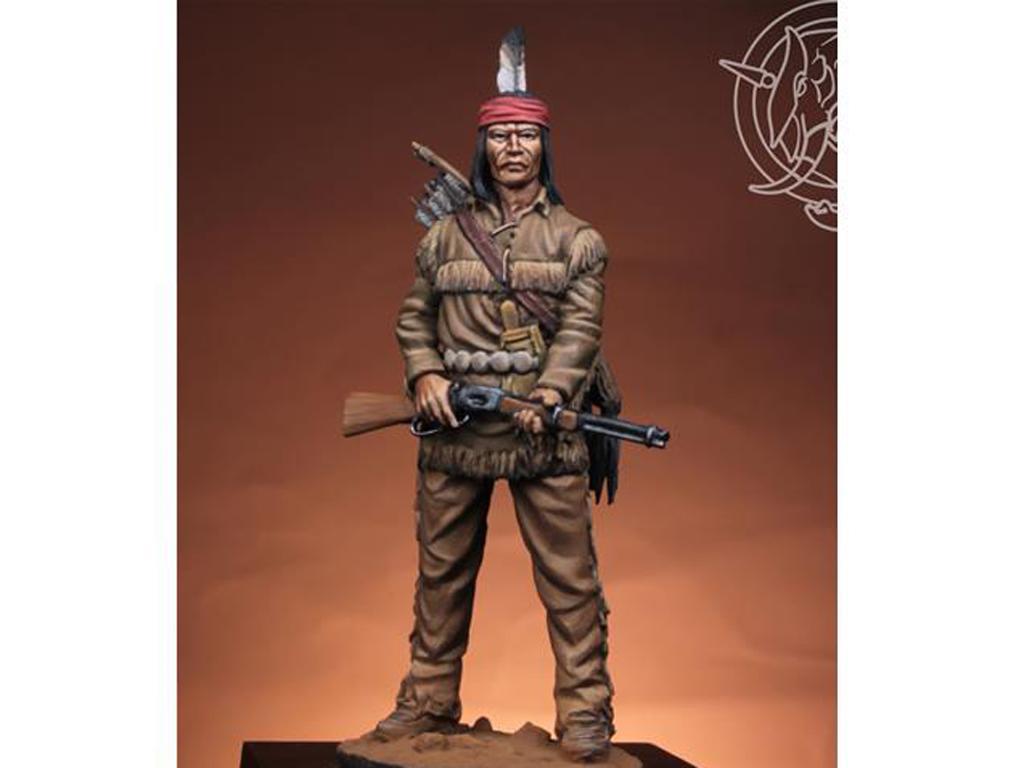 Navajo Warrior 1883 (Vista 1)