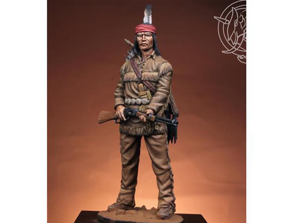 Navajo Warrior 1883 (Vista 2)