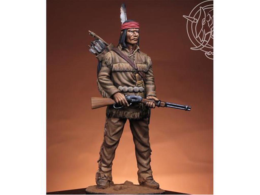 Navajo Warrior 1883 (Vista 3)