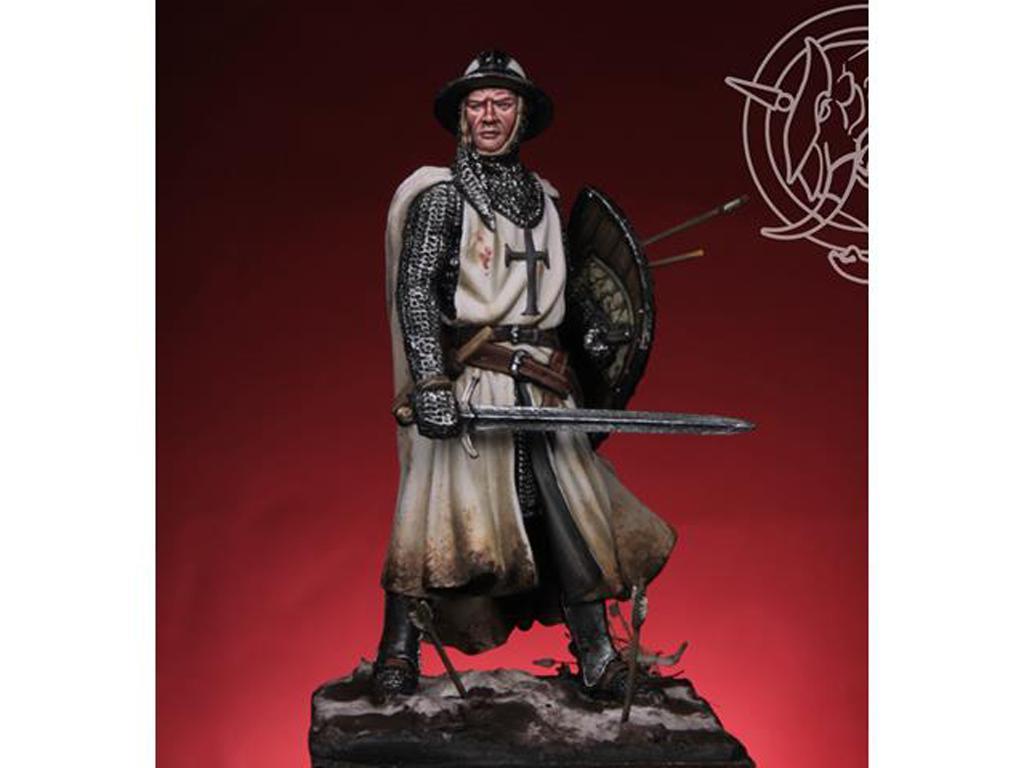 Templario / Caballero Teutónico siglo XIII (Vista 1)