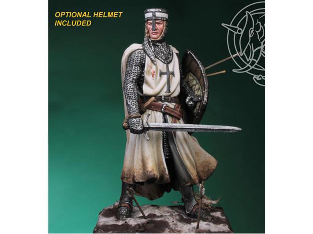 Templario / Caballero Teutónico siglo XIII (Vista 2)