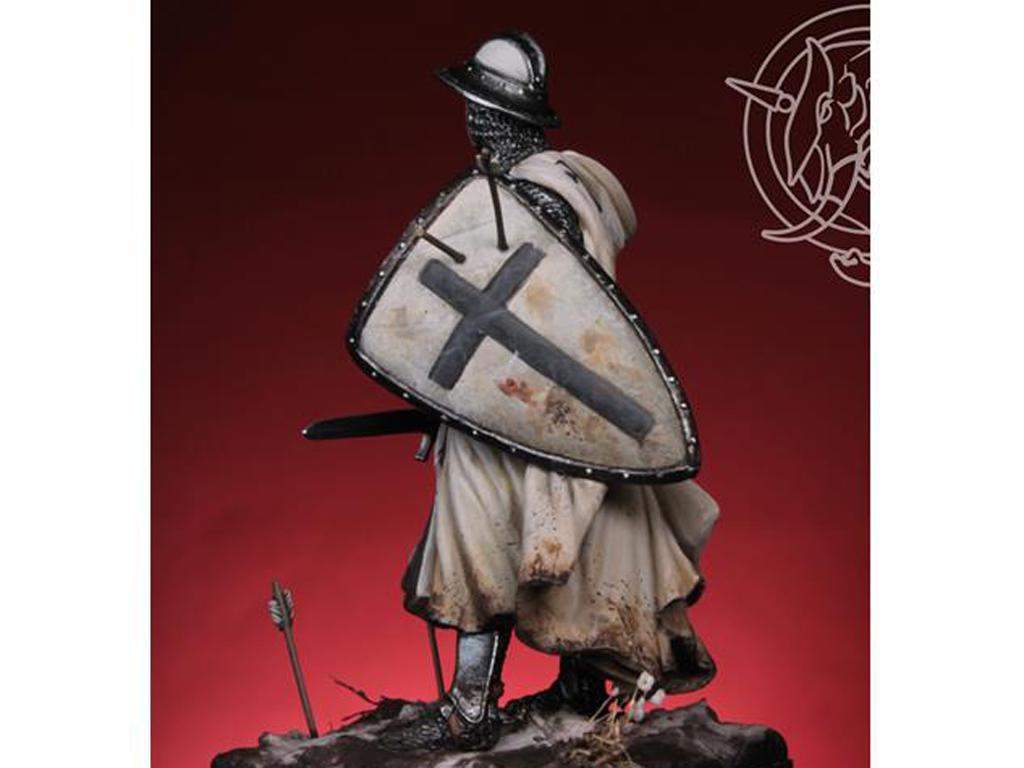 Templario / Caballero Teutónico siglo XIII (Vista 3)
