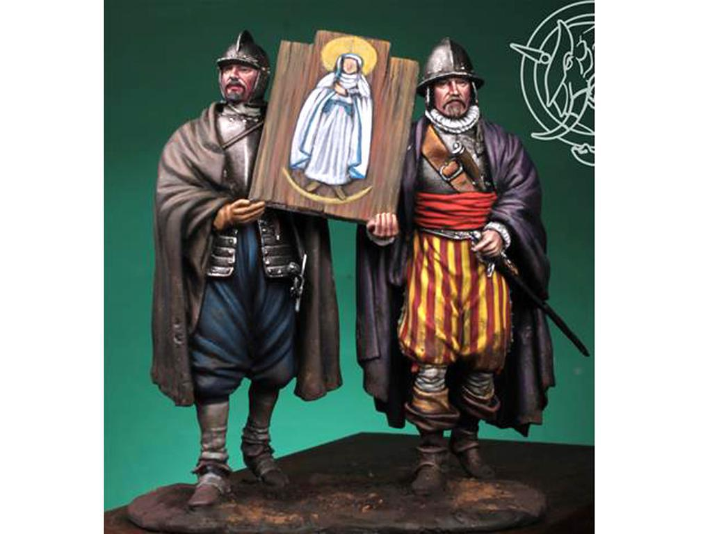 Soldados de los Tercios de Bobadilla, Empel 1585 (Vista 1)